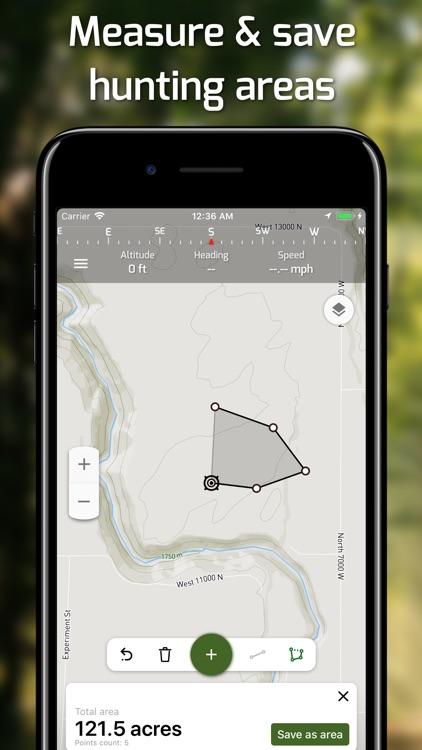 Hunting Points: GPS Hunt Maps screenshot-3