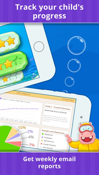 Splash Math - Games for Kids app image