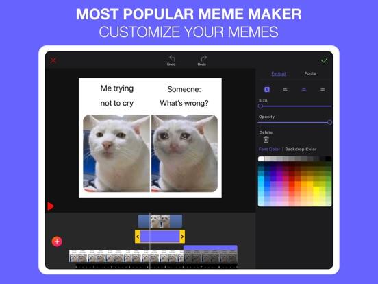 Screenshot #4 pour Memes Generator + Meme Creator