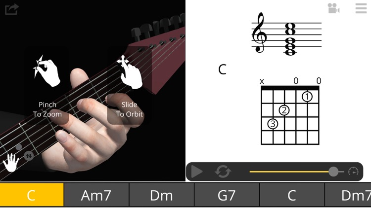 Guitar 3D - Basic Chords screenshot-0