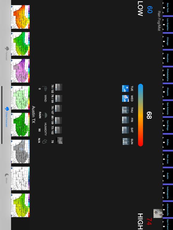 Instant NOAA Forecast Pro screenshot 10