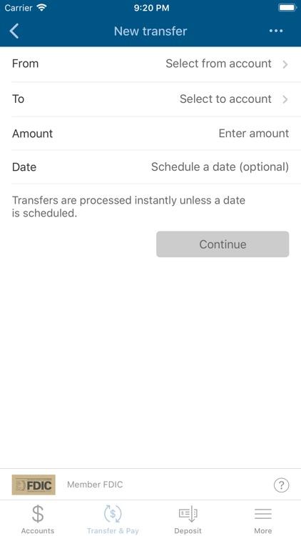 Capitol Bank Mobile Banking screenshot-4