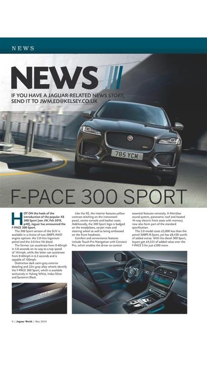 Jaguar World Magazine screenshot-5