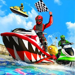 Jet Ski Water Speed Boat Racer