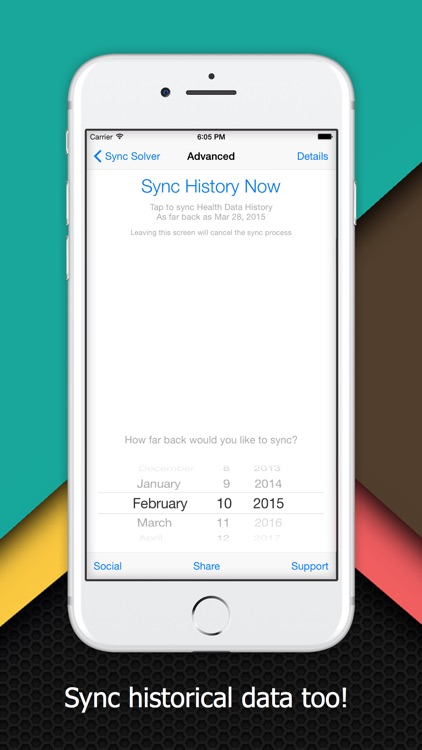 Sync Solver - Health to Fitbit screenshot-3