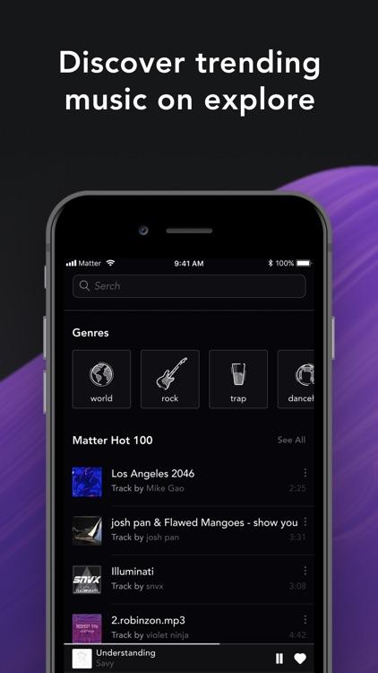 Matter Music: Beyond Streaming screenshot-3