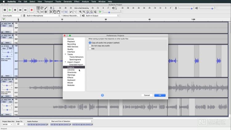 Audacity Video Manual By AV screenshot-3