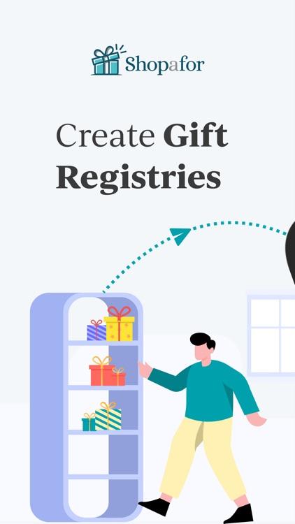 Shopafor: Gift Registry App