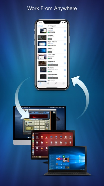 Remotix VNC, RDP & NEAR screenshot-2