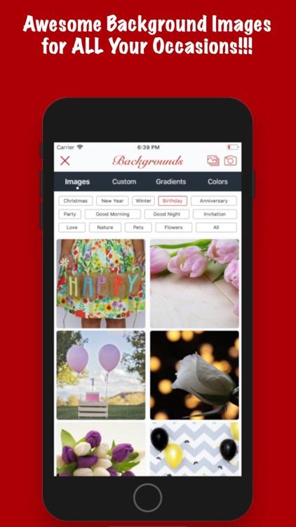 Greeting Maker-Holiday Invite screenshot-3