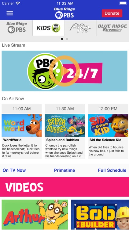 Blue Ridge PBS App screenshot-4