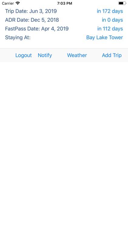 Countdown to WDW Vacation screenshot-3