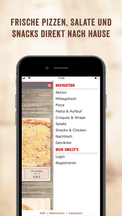Screenshot for Smiley's Pizza Profis in Germany App Store