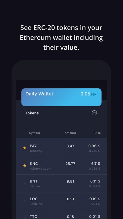 Auga Crypto Portfolio Tracker