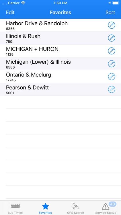 Bus Times - Chicago screenshot-4