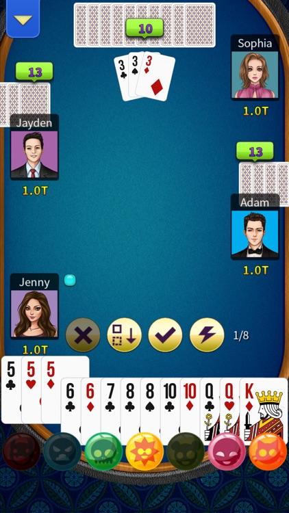 Big2 - KK Big 2 (No Ads) screenshot-5
