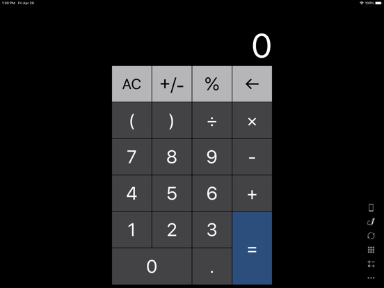 iPad Image of Calculator for iPad +