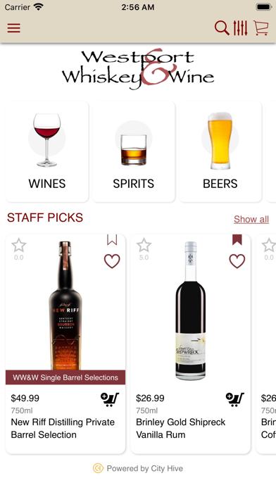 Westport Whiskey and Wine screenshot 2