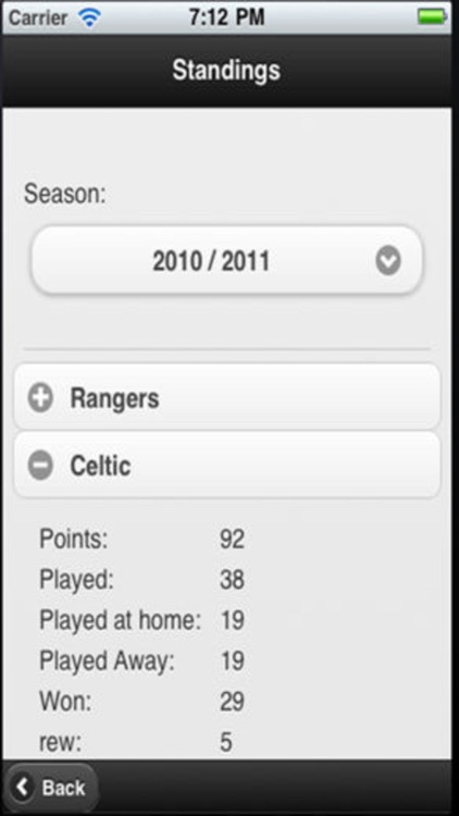 Scottish Football App screenshot-3