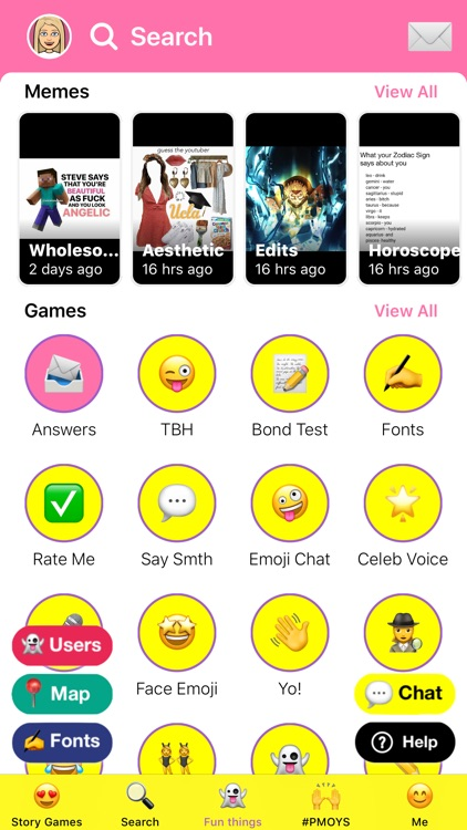 Slide Up - Games for Snapchat! screenshot-4