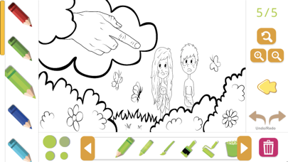 Biblia Coloring Story Book screenshot 2