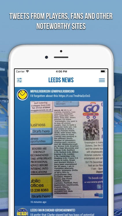 Leeds News - Fan App screenshot-4