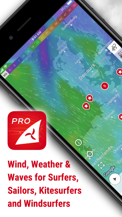 Windfinder Pro Wind & Weather Screenshot