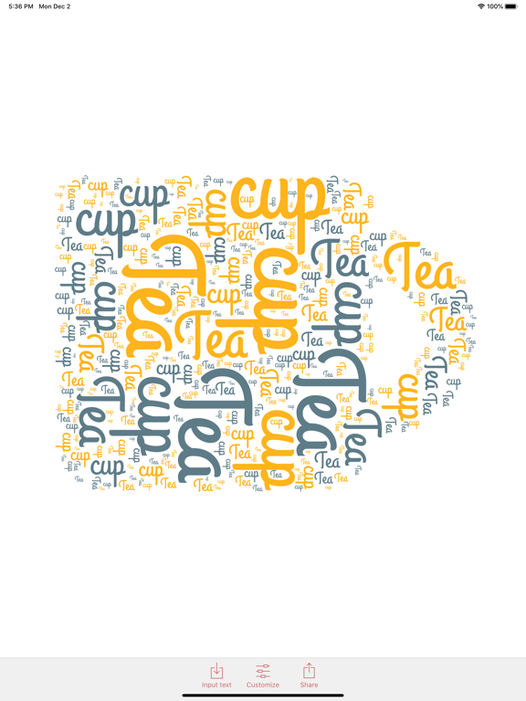 WordPack: Word Cloud Generatorのおすすめ画像4