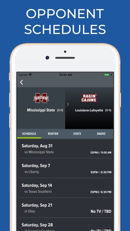 Mississippi State Football App screenshot-5