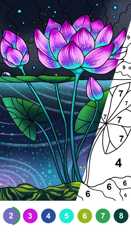 Paint by Number Coloring Games screenshot-0