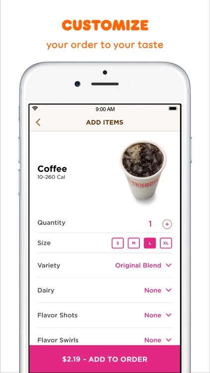 Dunkin' Donuts screenshot-4