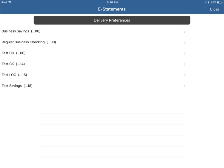 Abbeville First Bank for iPad screenshot-3