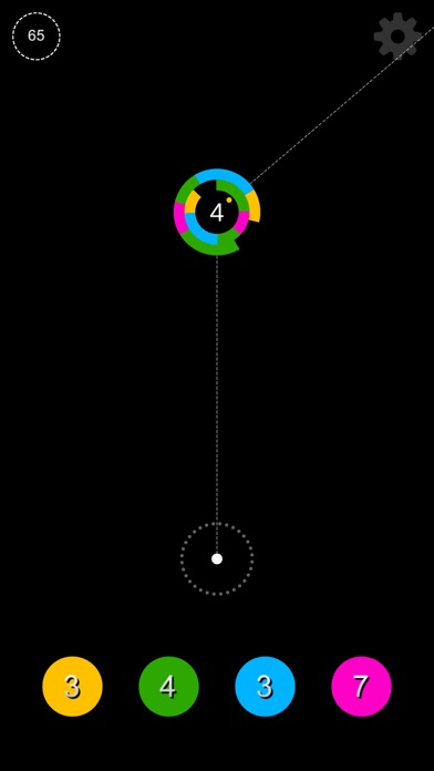 Screenshot #1 pour Circle Jump - Instant Shoot
