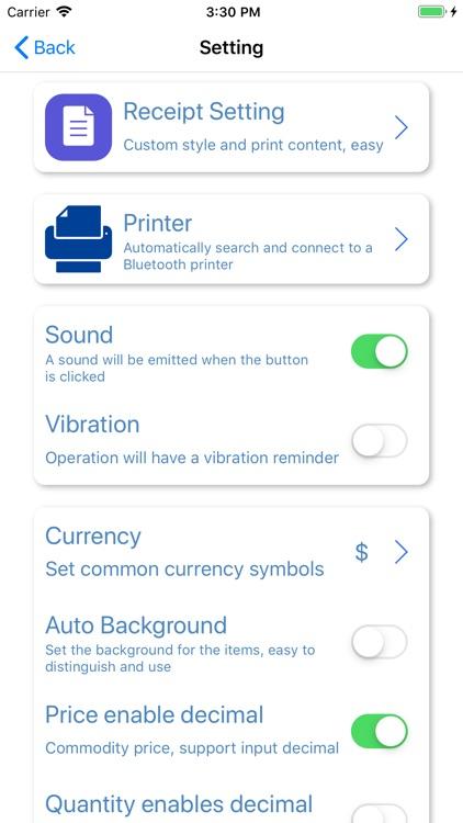 TinyPOS Make & Track Receipts screenshot-9