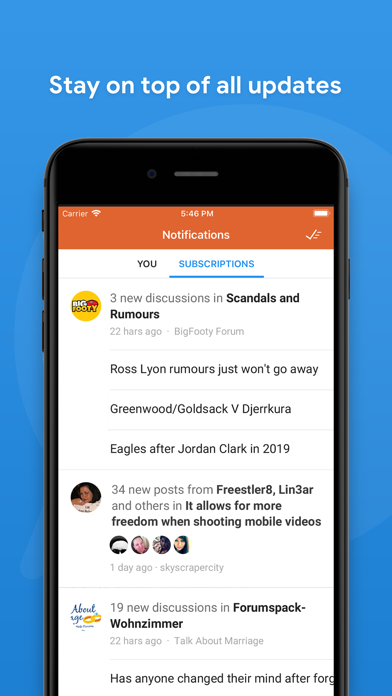 Screenshot for Tapatalk Pro in United States App Store