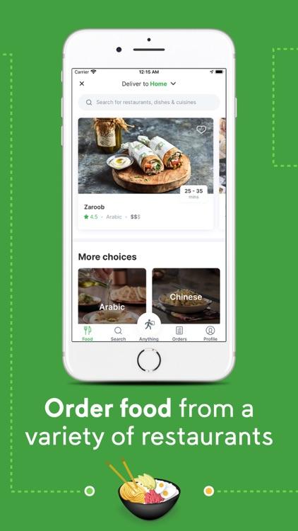 Careem - Rides, Food, Delivery screenshot-3