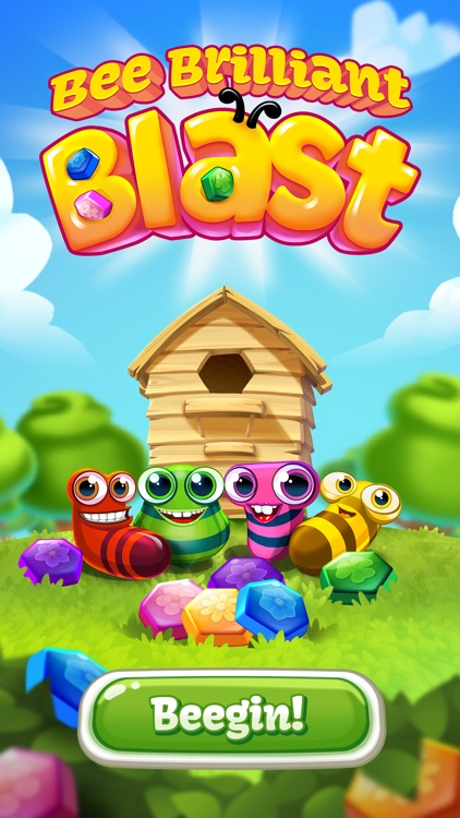 Bee Brilliant Blast screenshot-4