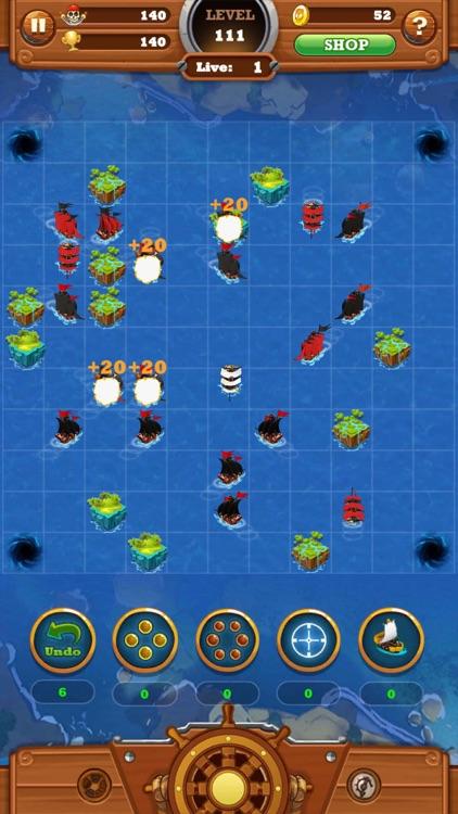 Seven Ships Battle: Pirate Sea screenshot-7