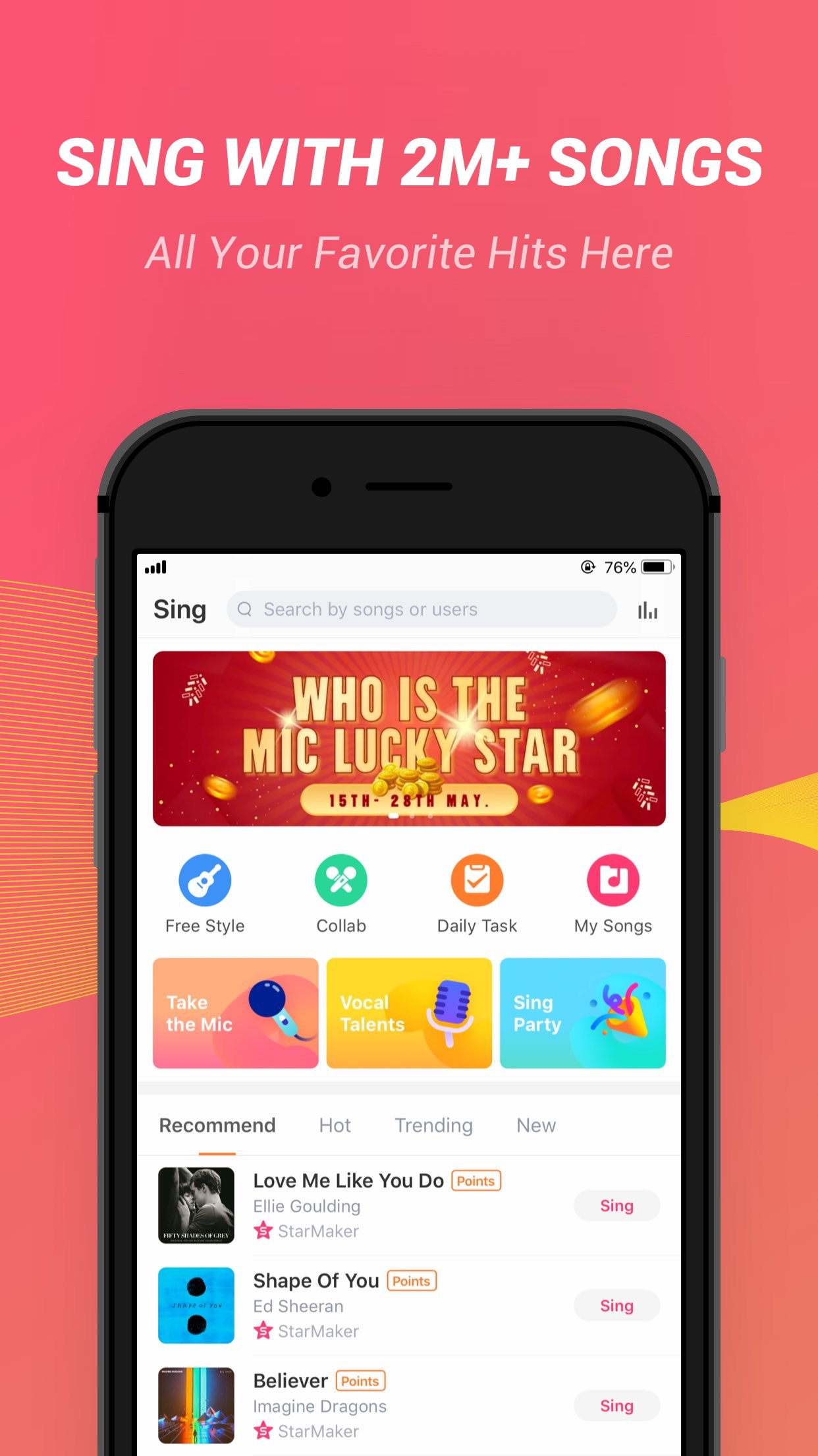 StarMaker Lite Screenshot