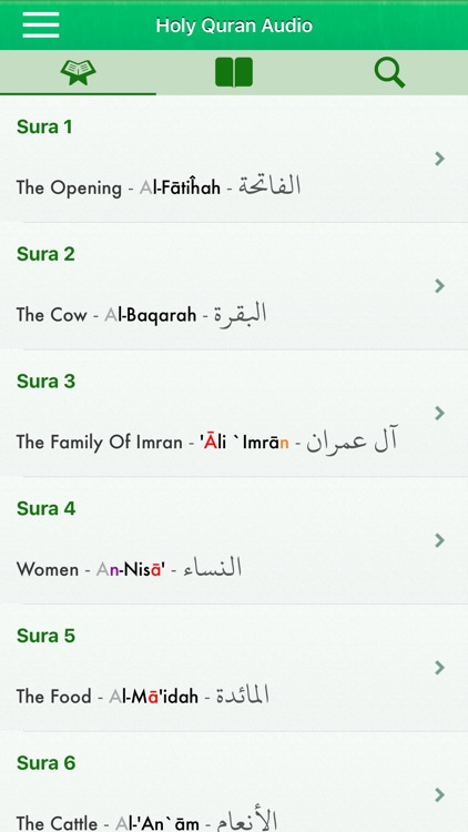 Al Quran Audio Pro in English