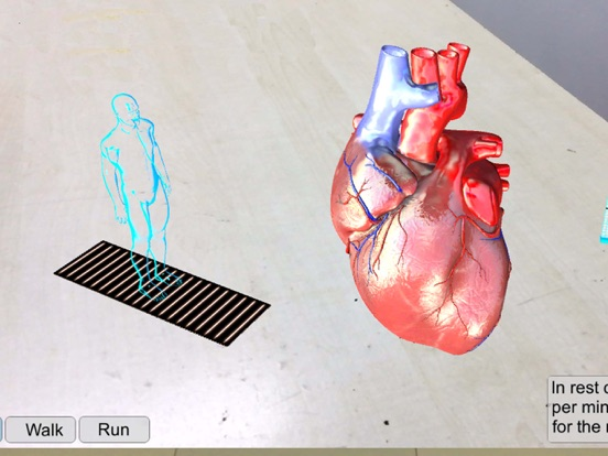 AR Human heart – A glimpse screenshot 6