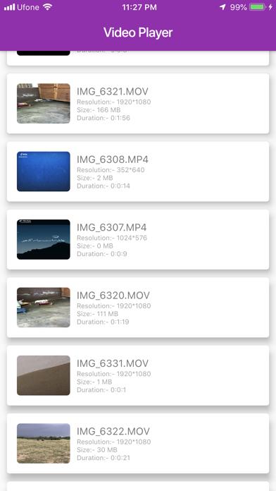Video Player US screenshot 1
