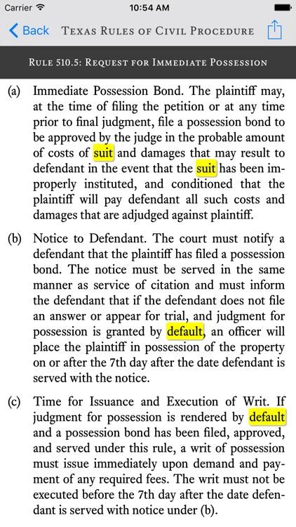 Texas Bar Legal screenshot-3