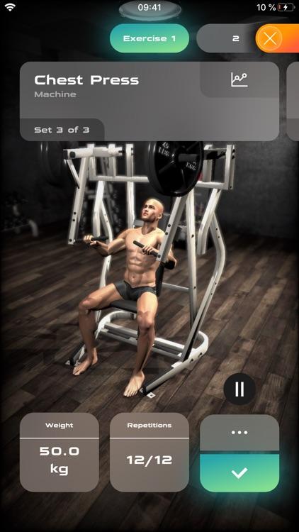 Gymnotize Pro Workout Routines screenshot-3