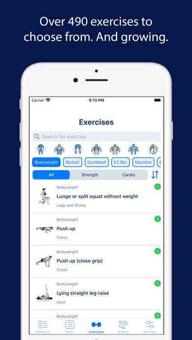 messages.download Beast Strength Workout Planner software