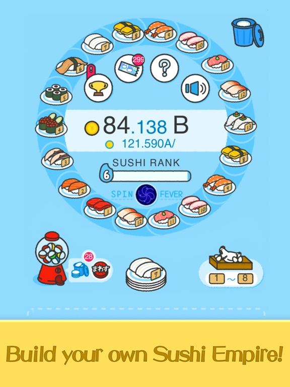 Merge Sushi - Best Idle Game screenshot 6