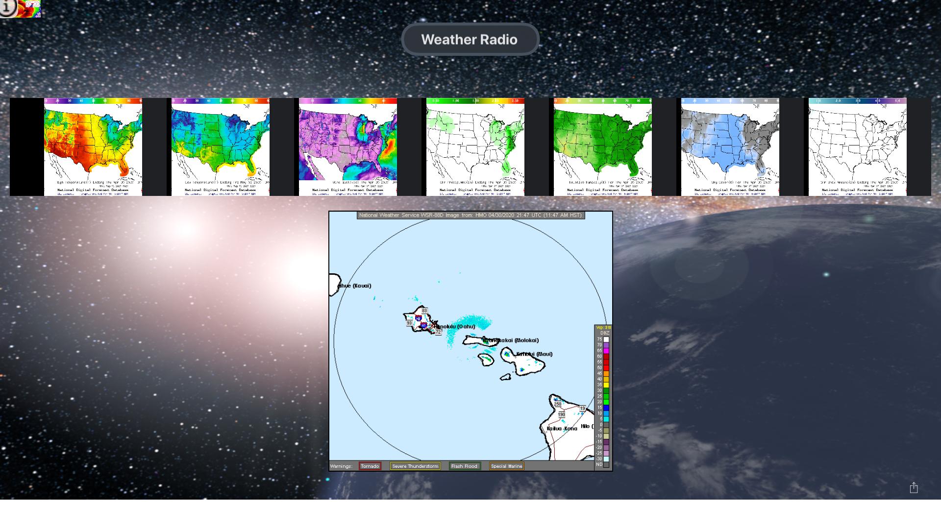 Instant NOAA Radios Lite screenshot 14