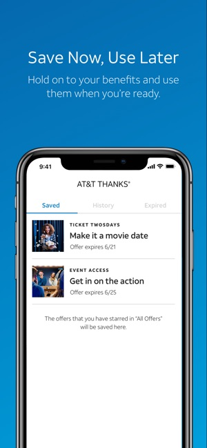 AT&T THANKS® on the App Store