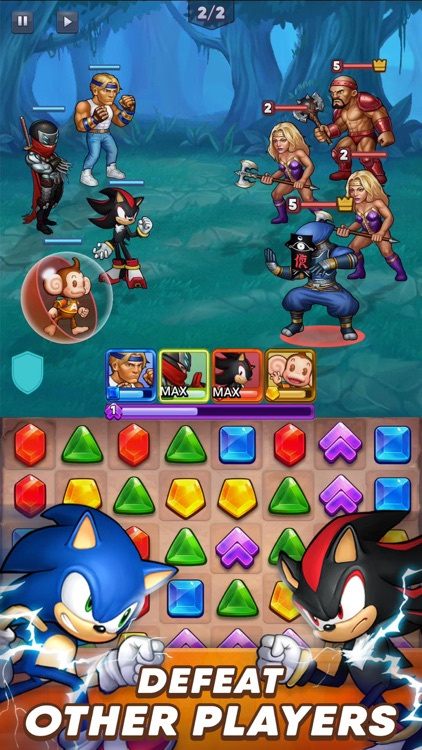 SEGA Heroes: Match 3 RPG Game screenshot-4