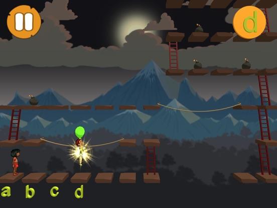 Alphabet and Ladders - LITE screenshot 10